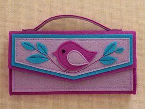 Видео мастер-класс: мастерим сумочку-шоколадницу из фетра. Ярмарка Мастеров - ручная работа, handmade.