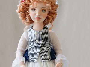 Марго, текстильная авторская кукла. Ярмарка Мастеров - ручная работа, handmade.