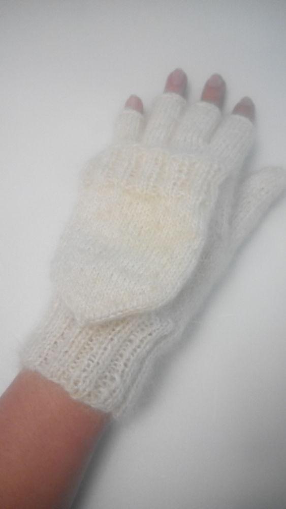 купить варежки, перчатки с пальцем купить, варежки спицами, варежки вязаные, варежки женские, подарок на новый год, митенки с колпачком