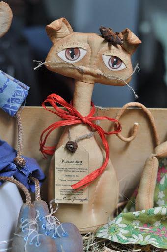 Ольга Винокурова чердачная кукла кот