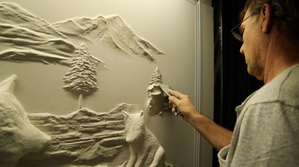 Bernie Mitchell: превращение скучных стен в произведение искусства, фото № 9