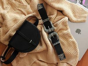Новые поясные сумочки! Встречайте — сумка MOON!. Ярмарка Мастеров - ручная работа, handmade.