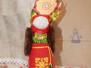 Мастерим обрядовую куклу «Домашняя Масленица». Ярмарка Мастеров - ручная работа, handmade.