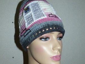 Новая шапочка Домик. Ярмарка Мастеров - ручная работа, handmade.