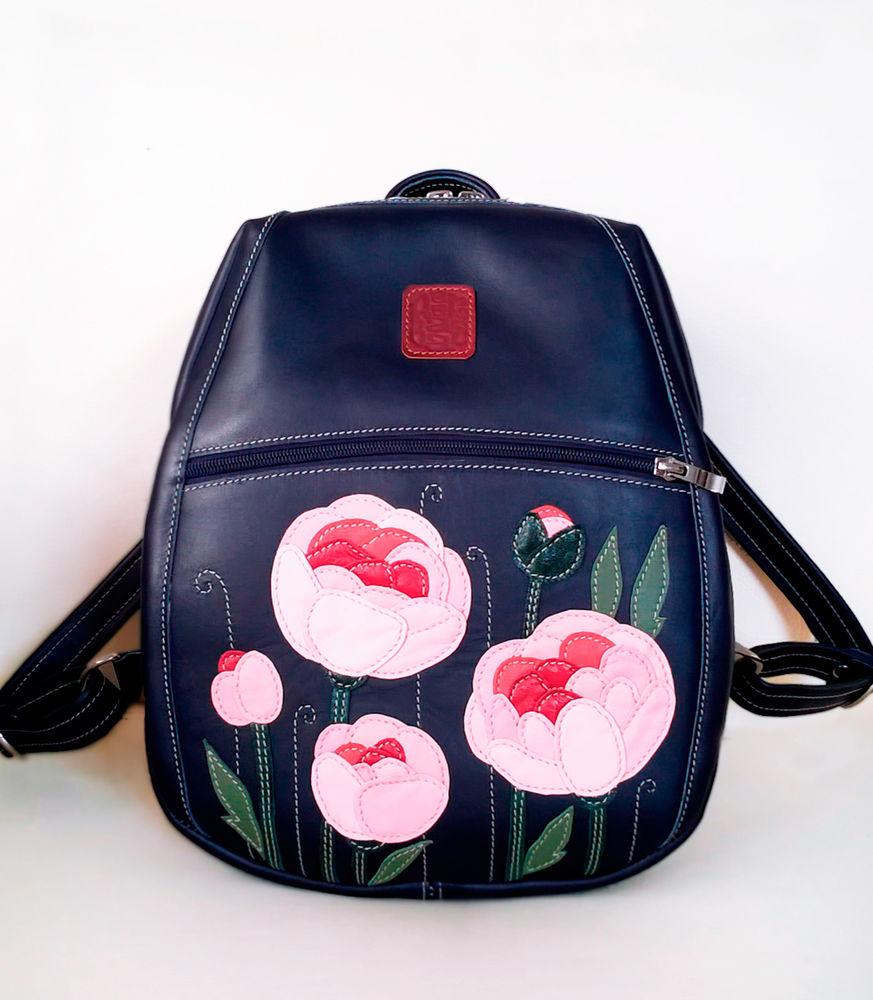 рюкзачки женские, городской кожаный рюкзак, готовая работа
