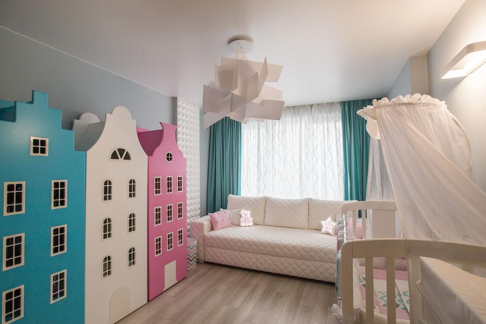 шторы для детской, дизайнер штор москва, пошив штор, заказ штор