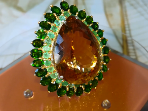 Видео! Новинка! Роскошное крупное кольцо 20 размер!!! | Ярмарка Мастеров - ручная работа, handmade