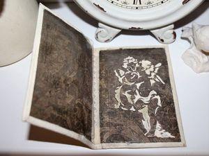 Обложка для паспорта внутри, которой уединились Амур и Психея. Ярмарка Мастеров - ручная работа, handmade.