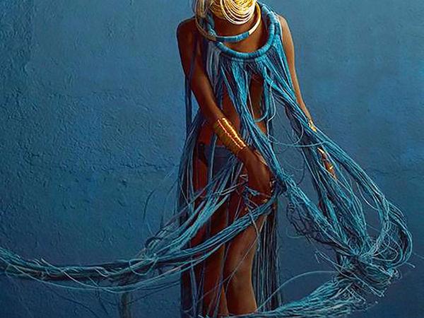 Вдохновляющий деним: 55 стильных нарядов от известных дизайнеров   Ярмарка Мастеров - ручная работа, handmade