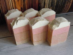 Фруктовый пудинг - мыло для ухода и бережного очищения с содой. Ярмарка Мастеров - ручная работа, handmade.