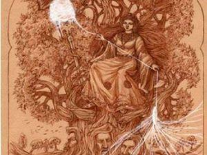 Макошь-древнеславянская богиня. Ярмарка Мастеров - ручная работа, handmade.