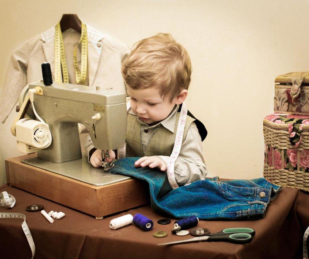 сектор шитье одежды картинка результате черно-белые татуировки