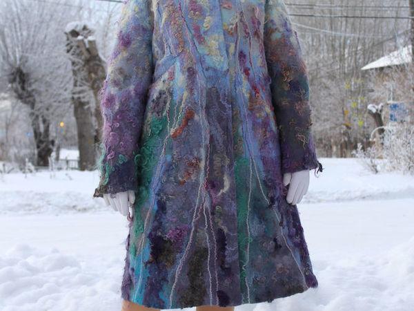 Новая шубка-пальто