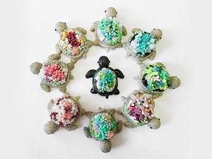 Планета черепах: чудесные миниатюры от ClaybieCharms. Ярмарка Мастеров - ручная работа, handmade.
