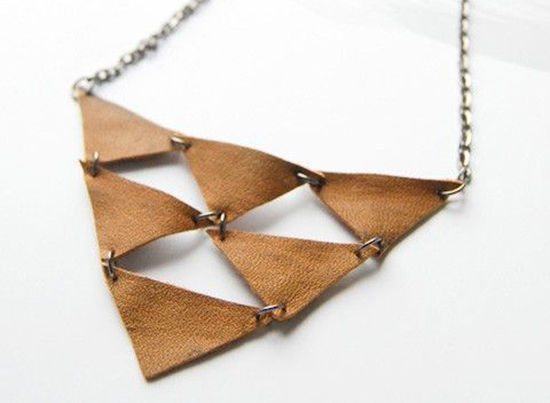 30 Simple Ideas for Design of Handmade Leather Jewelry, фото № 26