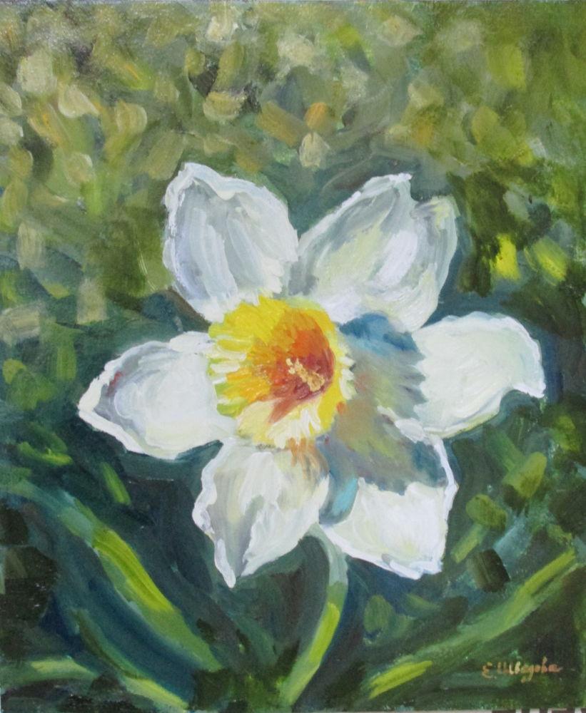 картина маслом цветы, картина для детской, картина цветы, елена шведова, купить картину в москве