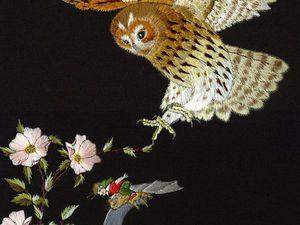 Вдохновение природой в сюжетах вышивки гладью Helen M. Stevens. Ярмарка Мастеров - ручная работа, handmade.