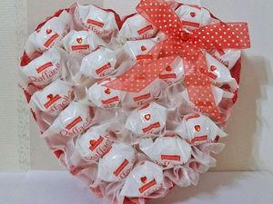 Розыгрыш конфетки-Сладкое сердце | Ярмарка Мастеров - ручная работа, handmade