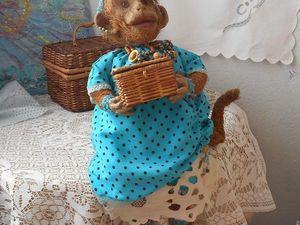 Акция-лотерея на забавную мартышечку!!!. Ярмарка Мастеров - ручная работа, handmade.