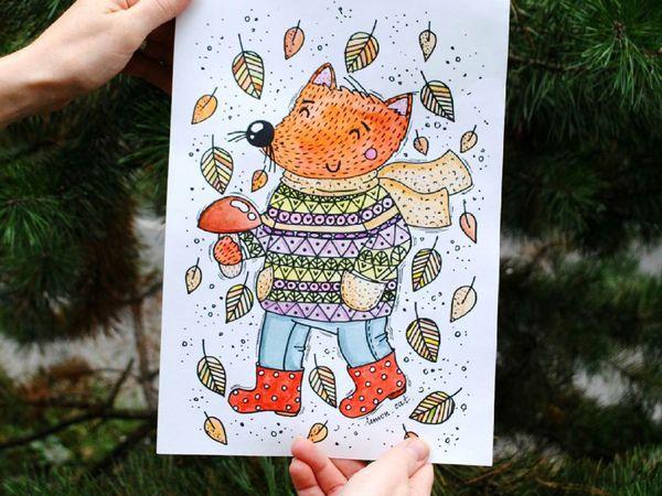 Как бывает уютно согреться холодной осенью....))) | Ярмарка Мастеров - ручная работа, handmade