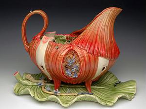 Керамическая анатомия в необычной посуде Bonnie Seeman. Ярмарка Мастеров - ручная работа, handmade.