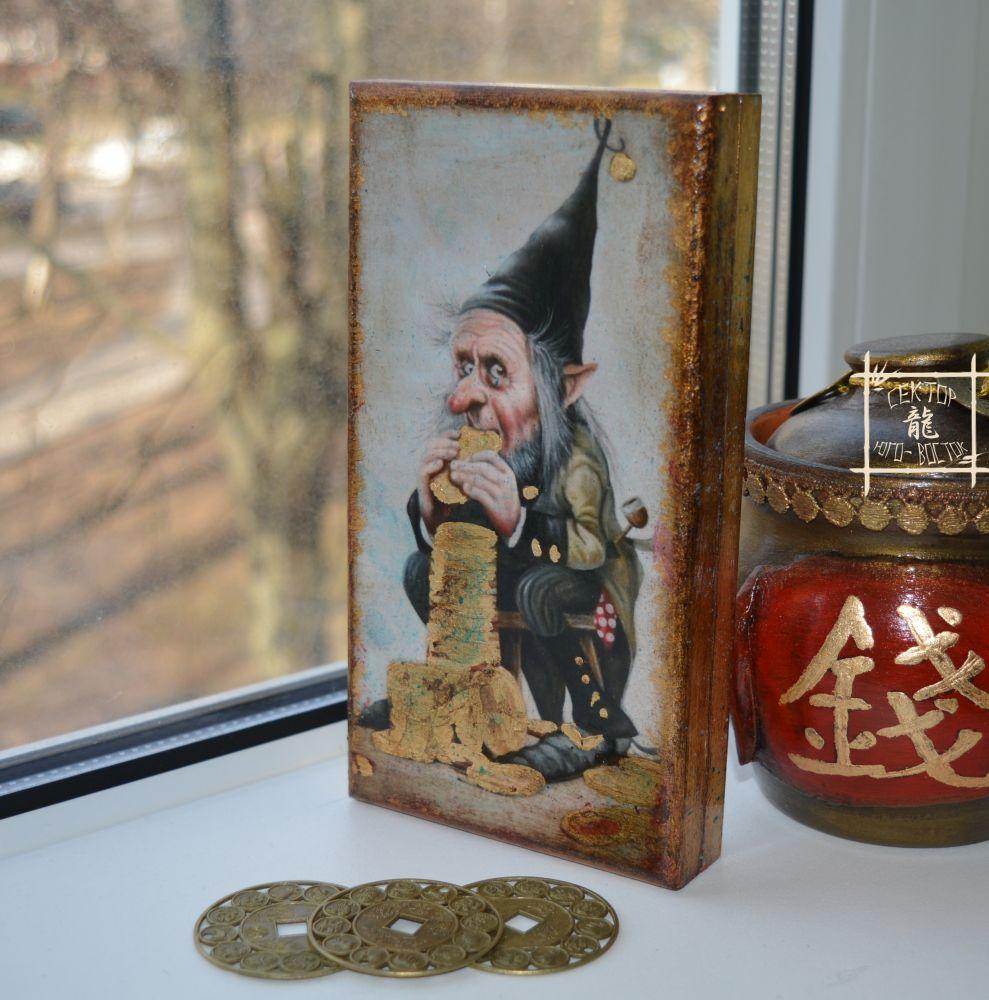 шкатулка для денег, подарки по фэншуй, оригинально