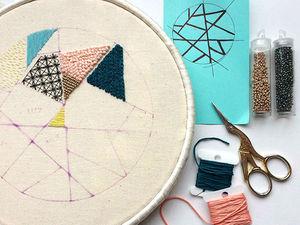 Геометрия на пяльцах: завораживающие работы вышивальщицы Rosie. Ярмарка Мастеров - ручная работа, handmade.