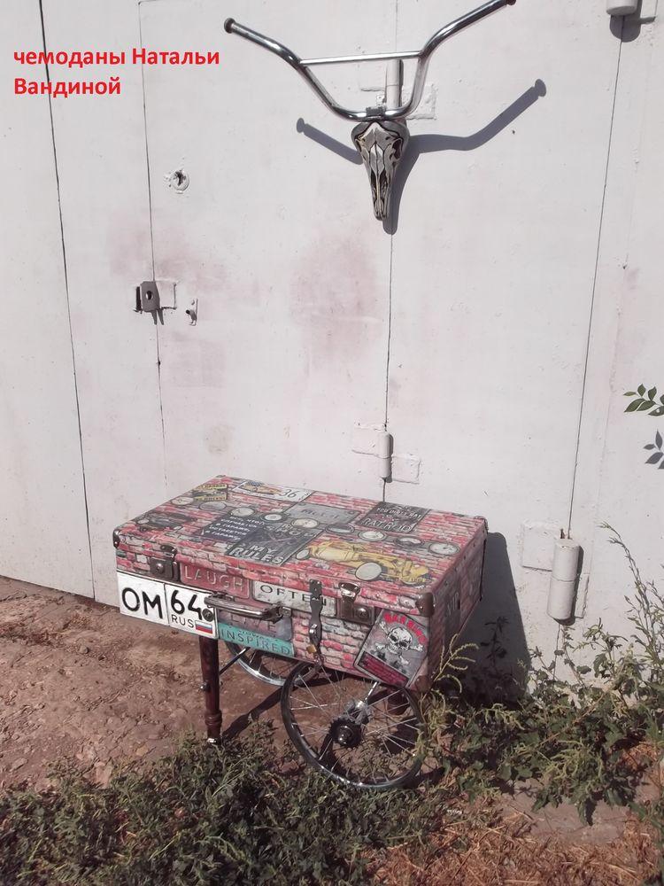 чемодан для интерьера