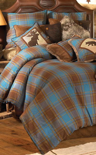 Rustic Log Cabin Bedding