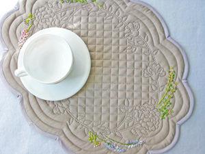 Подборка ланчматы и салфетки с вышивкой. Ярмарка Мастеров - ручная работа, handmade.