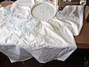 Первый дистанционный заказ на шитье с вышивкой. Ярмарка Мастеров - ручная работа, handmade.