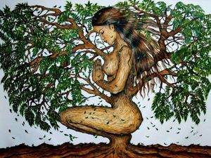 Способы энергетической подпитки от деревьев. Ярмарка Мастеров - ручная работа, handmade.