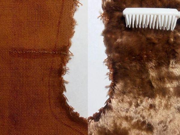 Как предотвратить неприятности в работе с винтажным плюшем | Ярмарка Мастеров - ручная работа, handmade
