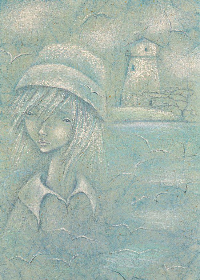 рисуем сказку о море
