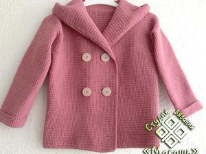 Мастер-класс: как связать детское пальто. Ярмарка Мастеров - ручная работа, handmade.