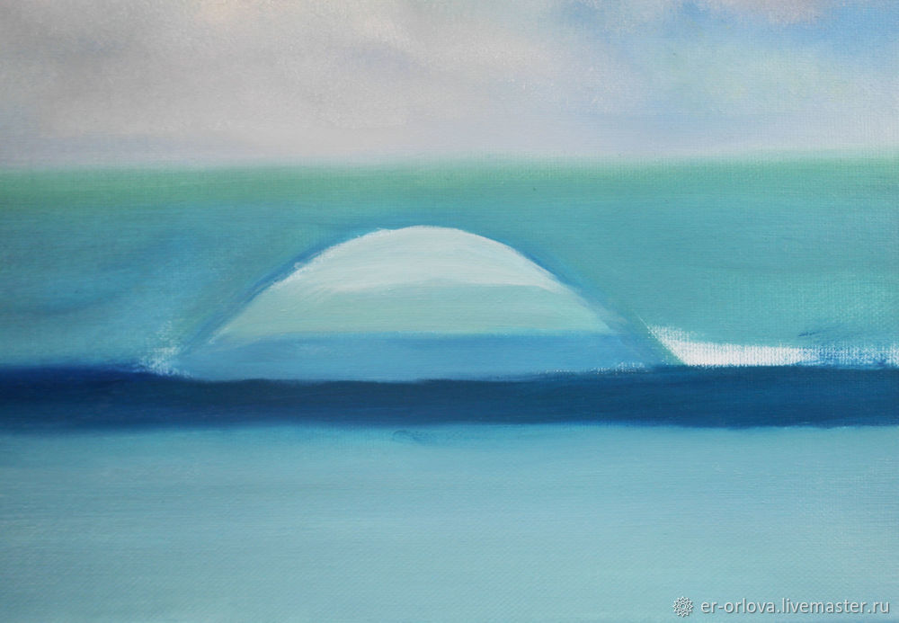 Painting Seascape with Oil Paints, фото № 13