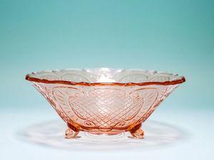 Розалиновое стекло. Ярмарка Мастеров - ручная работа, handmade.