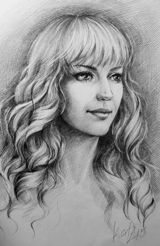 мастер-класс, рисовать портрет