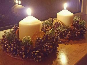 Декорируем подсвечник к Новому году. Ярмарка Мастеров - ручная работа, handmade.