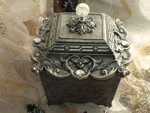 Ларец с Сокровищами. Шкатулка для украшений. | Ярмарка Мастеров - ручная работа, handmade