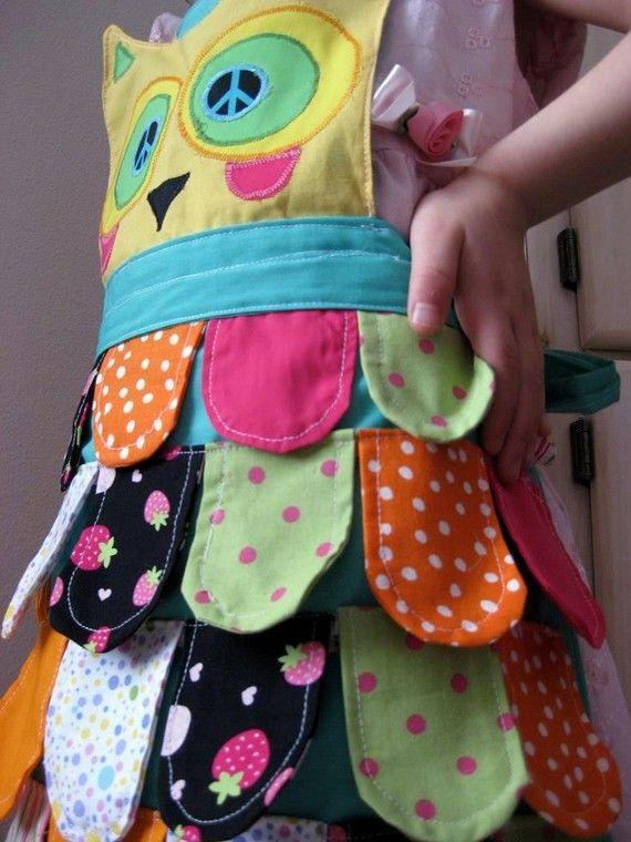 Owl apron.Wow!!