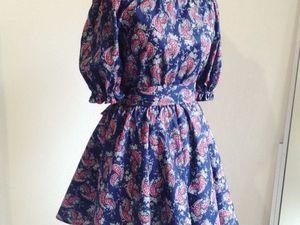 Платье Крестьянка - хит продаж. Ярмарка Мастеров - ручная работа, handmade.