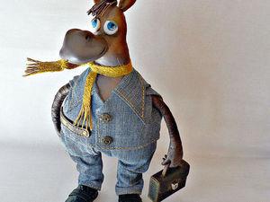 Вперед Бегемот, Питер ждет, очень ждет!!! | Ярмарка Мастеров - ручная работа, handmade