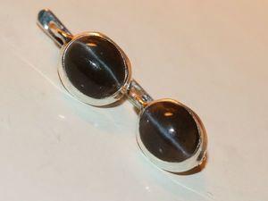 Кольцо серьги кошачий глаз натуральный серебро 925 %. Ярмарка Мастеров - ручная работа, handmade.