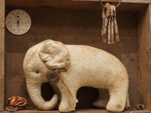 Возрождаем культуру. Хотьковский слоник. Ярмарка Мастеров - ручная работа, handmade.