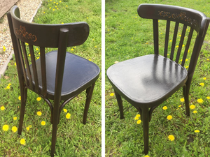 Recovering a Viennese Chair from Ashes. Livemaster - handmade