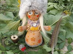 Текстильная кукла Баба-Яга в юности. Дополнительные фото интерьерной куклы. Ярмарка Мастеров - ручная работа, handmade.