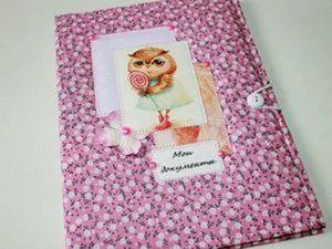 Розыгрыш конфетки - папочки для детских документов! | Ярмарка Мастеров - ручная работа, handmade