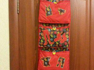 Скидка на кармашки на шкафчик в детский сад до 1 декабря 2016 г.   Ярмарка Мастеров - ручная работа, handmade