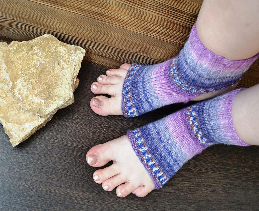 носки женские, носки для йоги
